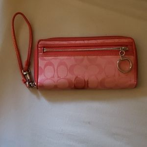 Pink Wristlet/wallet